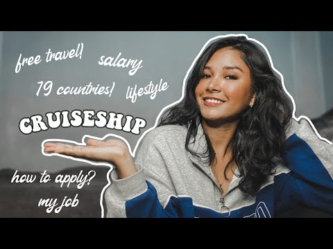 WORKING ON A CRUISESHIP | #shiplife ep 1 ( SALARY, TRAVEL FOR FREE, MY JOB, etc )