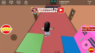 (roblox) escape school obby gameplay