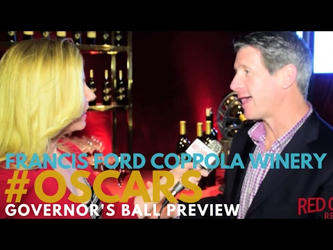 Francis Ford Coppola Winery Unveils Wines at 89th Oscars Governors Ball press preview