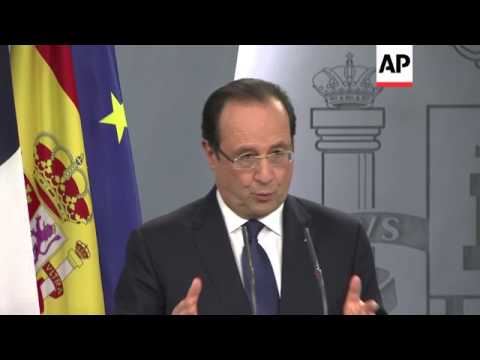 Spanish and French leaders hold talks