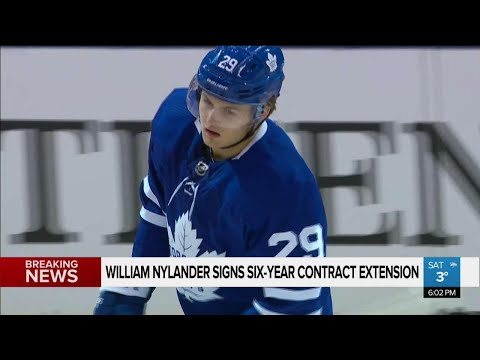 Nylander signs 6-year contract extension