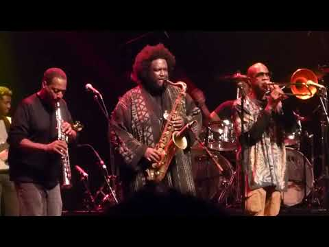 Kamasi Washington. Live @ Terminal 5, NYC...