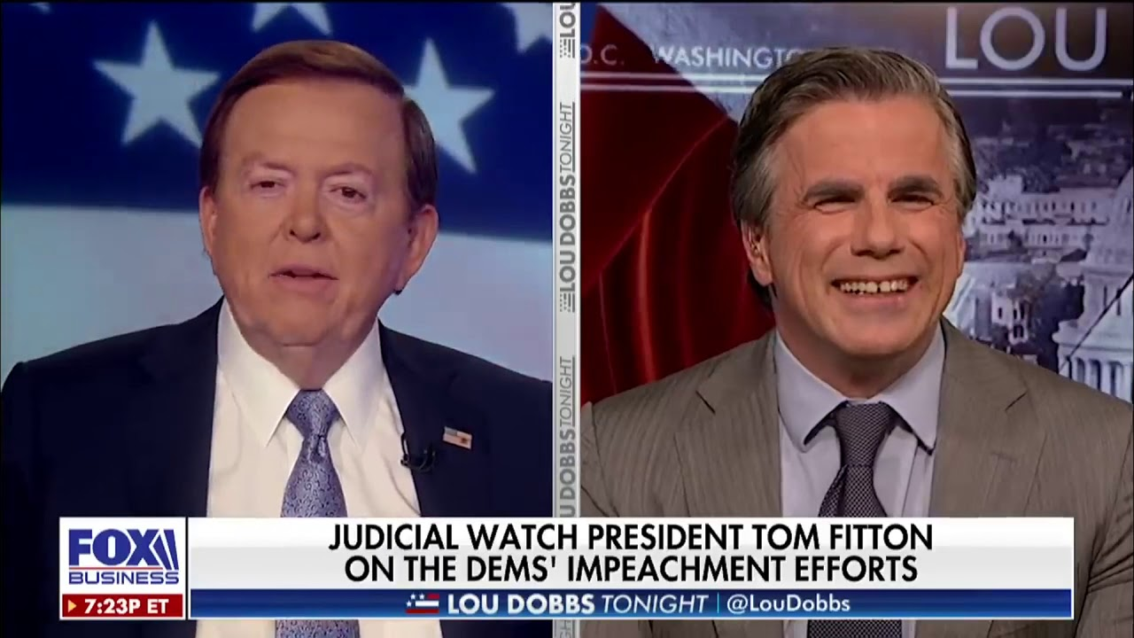 Judicial Watch Senate Needs to Take Leadership Against Anti-Trump Coup Attempt! | Tom Fitton