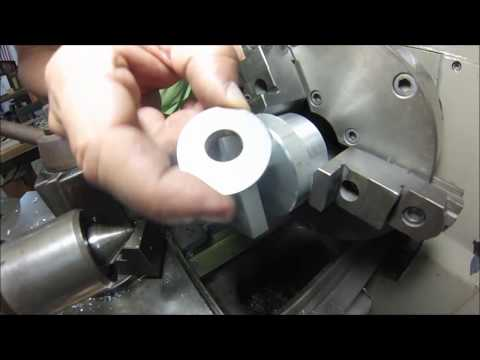 Machining ultra thin shaft spacers and precision washers