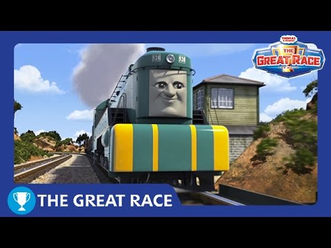 The Great Race: Shane of Australia | The Great Race Railway Show | Thomas & Friends