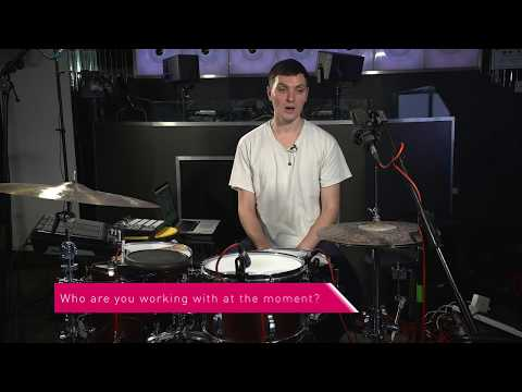 James Trood Drums Masterclass at ACM