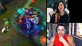 TYLER1 GOT HACKED BY A RIOT GAMES PROGRAM | RAYINA GETS SICK OF A MOE VIEWER | TRICK2G | LOL MOMENTS