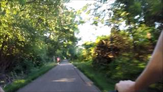 Trails On A Bright Sunny Day With Go Pro - Hi Definition 1080p