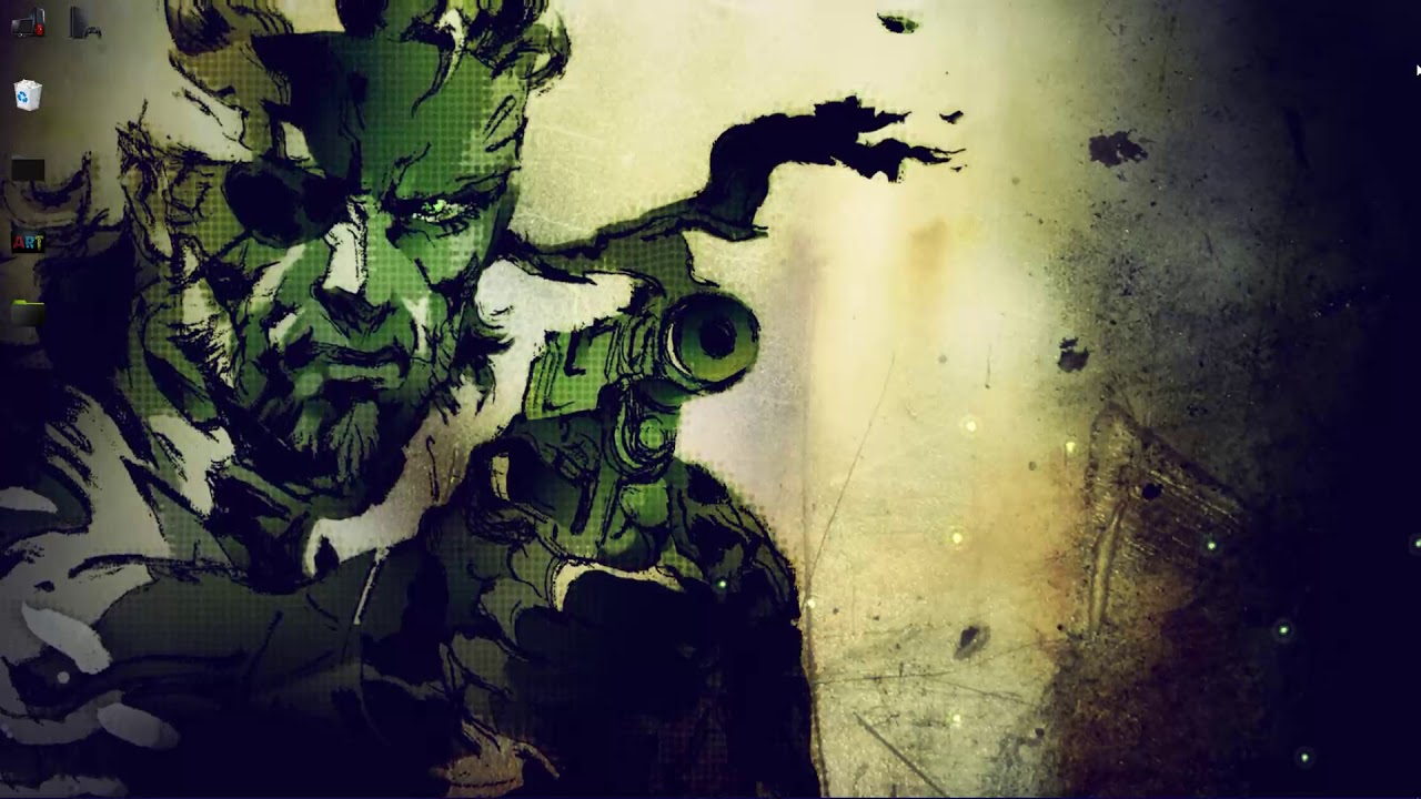 Metal Gear Solid 3 Naked Snake Big Boss Live Wallpaper Youtube