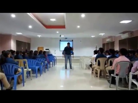 Saveetha School of Management - Talk on The Challeges Faced by First Generation Entrepreneur