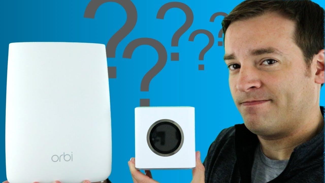 Netgear Orbi vs AmpliFi HD - Which Mesh WiFi System is Better?
