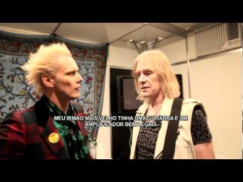 Supla entrevista Tom Hamilton do Aerosmith