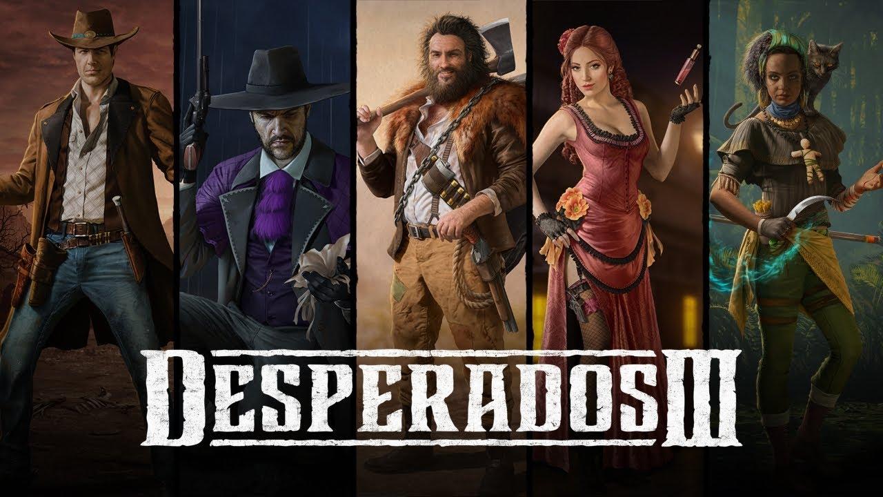 『Desperados III(デスペラードス3)』キャラクター紹介動画