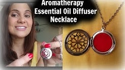 Aromatherapy Essential Oil Diffuser Necklace | Review & How To Use