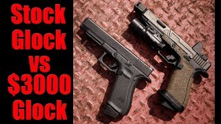 $3000 Custom Glock vs Stock Glock