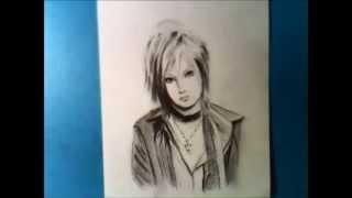 以前にも描いたことがある 喜矢武 豊さん描いてみました。 写実画では過...