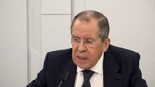 Пресс-конференция С.Лаврова по итогам СМИД БРИКС в формате видеоконференции, Москва, 28 апреля 2020