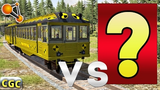Crazy Crash Test Subway Train VS ? BeamNG.Drive #5