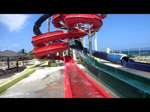 Ocean World Adventure Puerto Plata Dominican Republic Triple Twister water slide