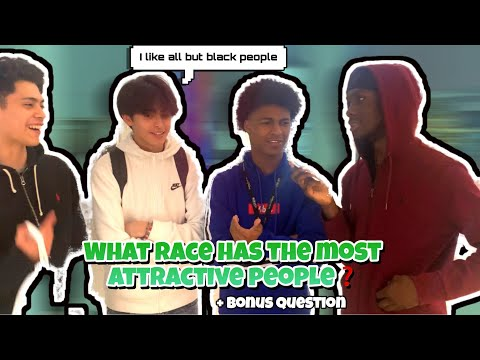 WHAT RACE HAS THE MOST ATTRACTIVE PEOPLE🤔❓Public Interview
