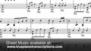 Run - Leona Lewis - Piano