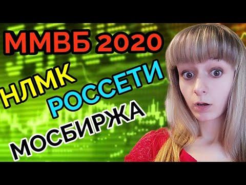 Акции Московская биржа  НЛМК Россети. Акции России 2020 прогноз.ММВБ 2020