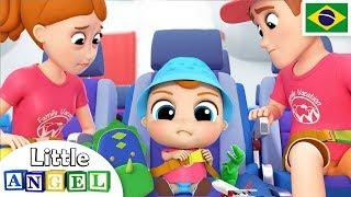 O Bebê Viaja de Avião! 🛩️ | Canal do Joãozinho - Little Angel Português