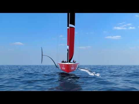 AC75 -The 36th America's Cup boat concept