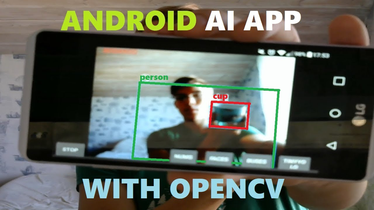 Let's Build an Android AI App with OpenCV (+put YOLOv3 there) || Android  Deep Learning with OpenCV#1