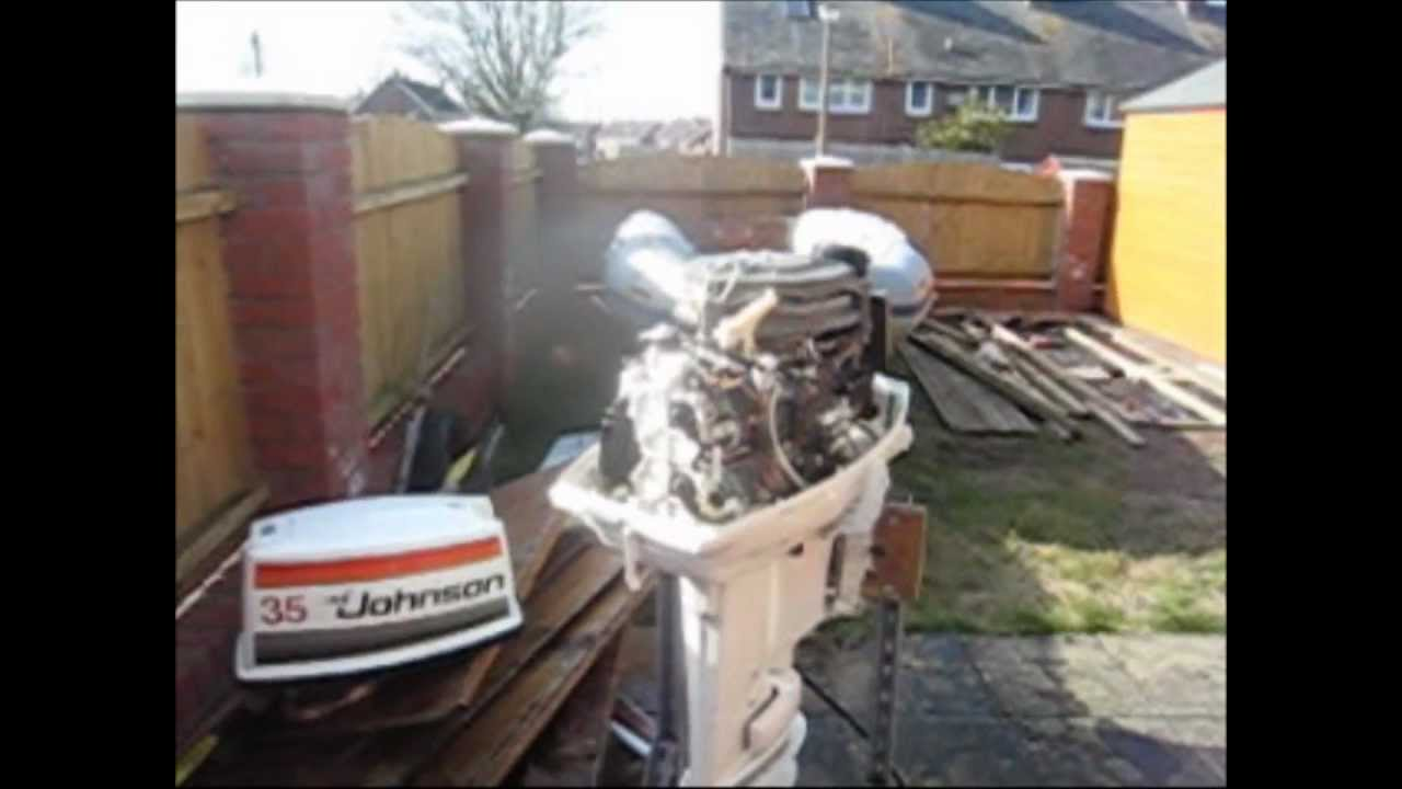 Johnson 35hp Outboard engine - FOR SALE !!