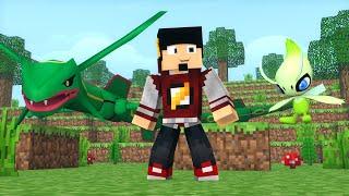 Minecraft: LIGA POKEMON #5 - RAYQUAZA ou CELEBI ‹ AM3NIC ›