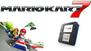 Mario Kart 7 nintendo 2DS gameplay