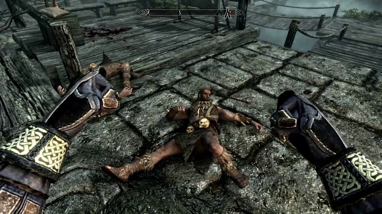 PS4 Elder Scrolls V Skyrim Special Edition - Catch These Hands Unarmed  Combat Mod Gameplay