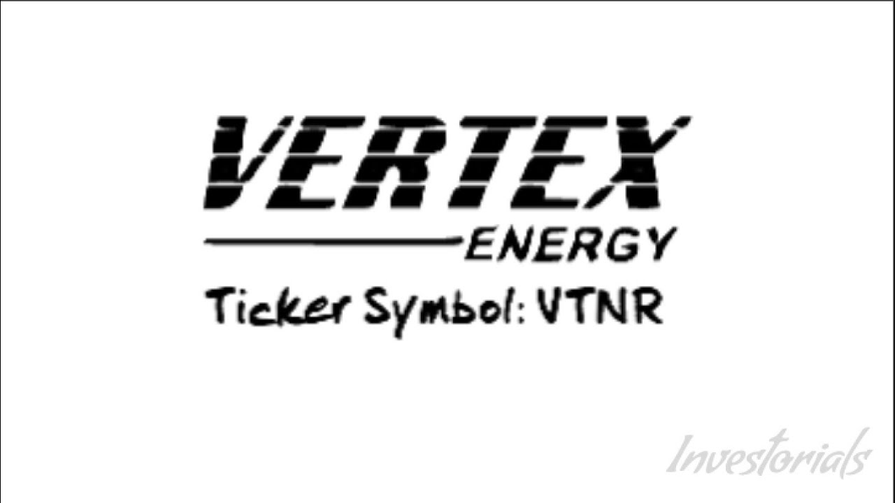 Vertex Energy Inc Ticker Symbol Vtnr Youtube