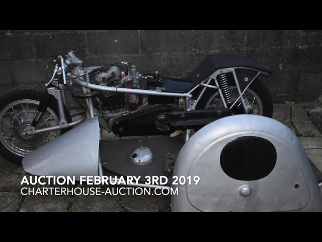 What is in the Motorbike Auction on February 3rd?