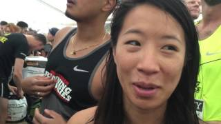 Elly Tan from Amsterdam ready for Copenhagen Half Marathon 2015
