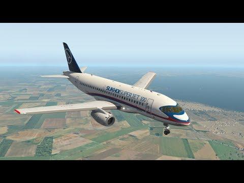 "Sukhoi Superjet 100 (URKK - LTAI) "" Пожар на борту"""