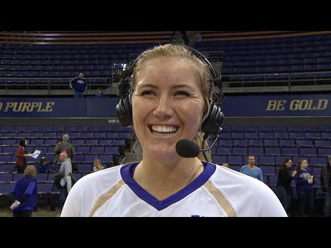 Volleyball: Washington's Bailey Tanner on heading into the NCAA tournament: 'We're ready to go'