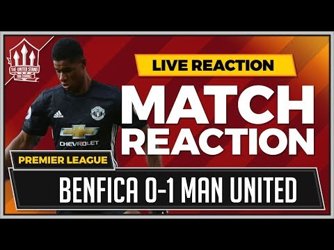 Benfica 0-1 Manchester United | RASHFORD Goal Wins It!