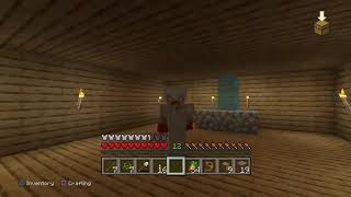 Minecraft Solo Survival EP. 3 Farms And Finishing My House