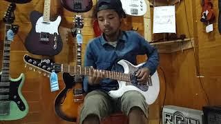 Cort g110x guitar test sound with Cort Cm30r amplifier