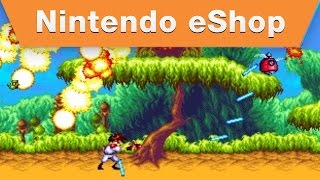 Nintendo 3DS - 3D Gunstar Heroes Launch Trailer