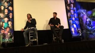 Jensen & Jared Panel Part 8 - Supernatural NJ Con 2013