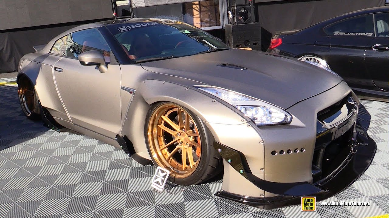 2015 nissan gtr by tuner cult exterior walkaround sema 2016 publicscrutiny Image collections