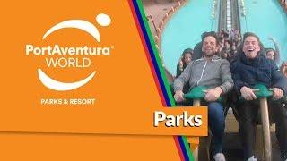 Los chicos de OT 2017 en Shambhala de PortAventura World