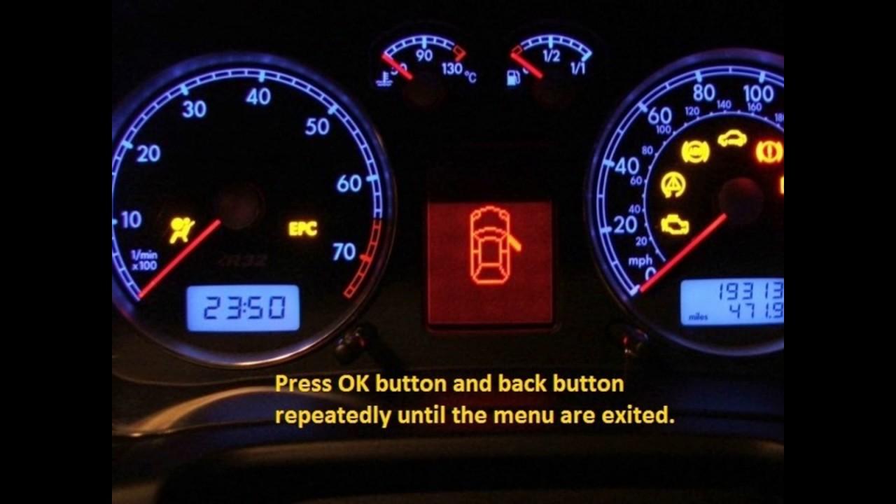 Jeep Wrangler 2013 2015 How To Reset Service Light Indicator