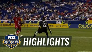 French Guiana vs. Canada | 2017 CONCACAF Gold Cup Highlights
