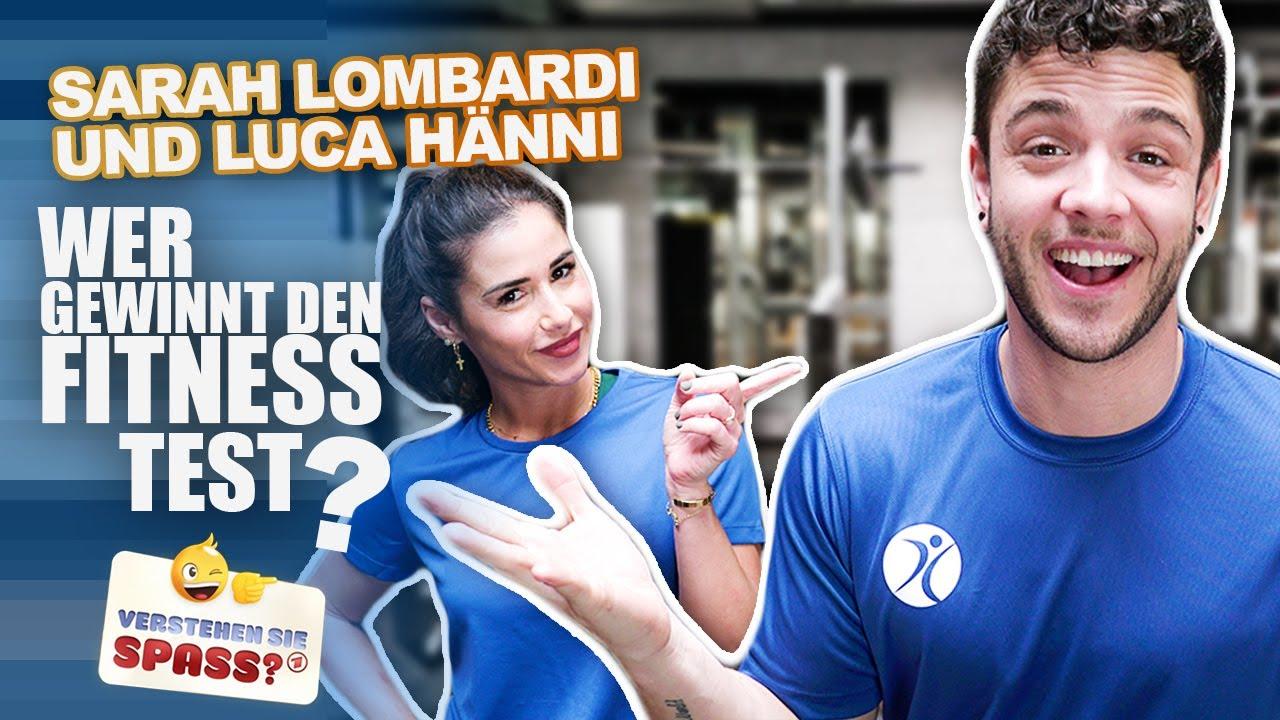 Download Sarah Lombardi gegen Luca Hänni: Wer ist fitter? | Verstehen Sie Spaß?