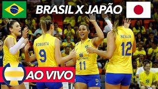 🏐 BRASIL 3 X 1 JAPÃO - Liga das Nações de Vôlei (COMPLETO)