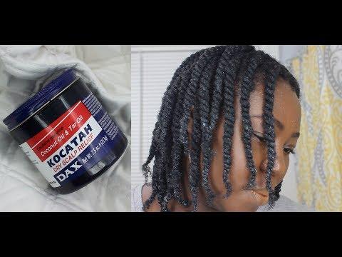 Moisturizing Dry Crunchy hair with Black Dax Grease; 4C natural hair